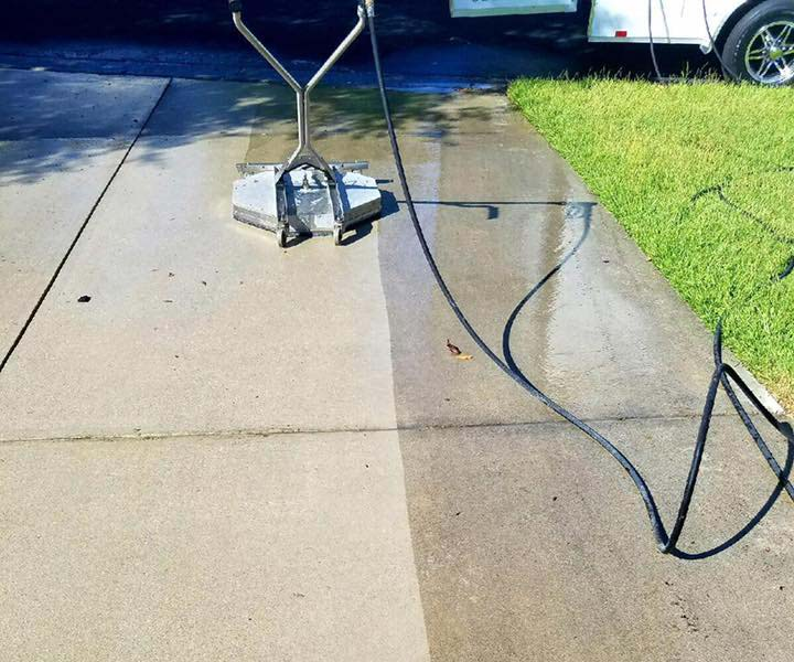 Try Our Driveway Power Washing Service