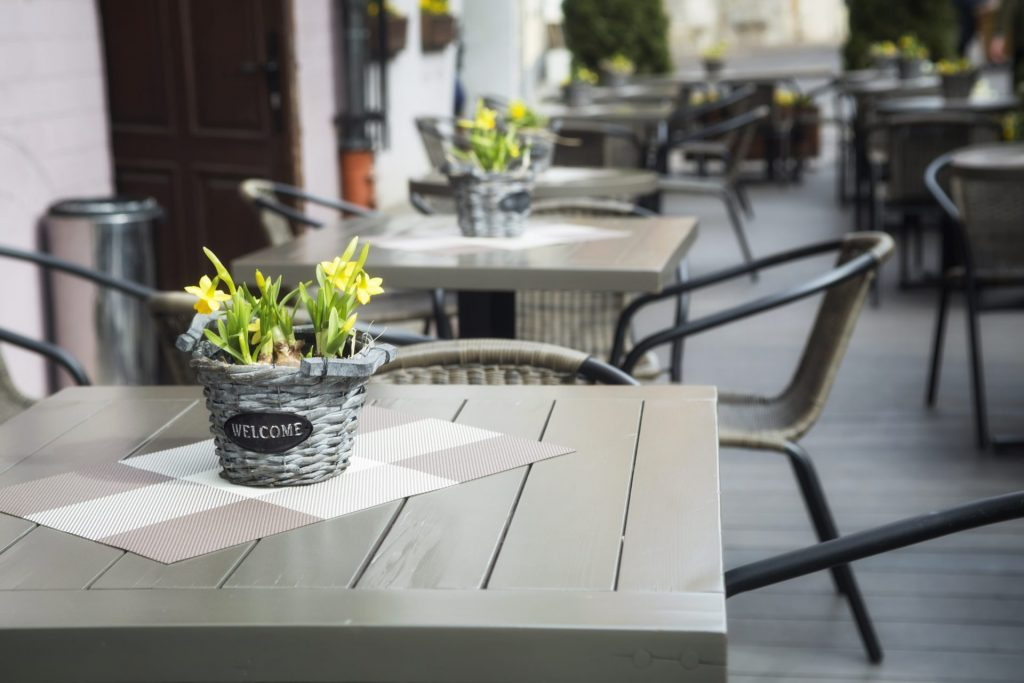 4 Benefits Of Pressure Washing Your Commercial Patio.